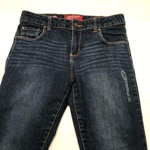 Arizona Jean Co. Girl's Skinny Denim Jeans Size 16